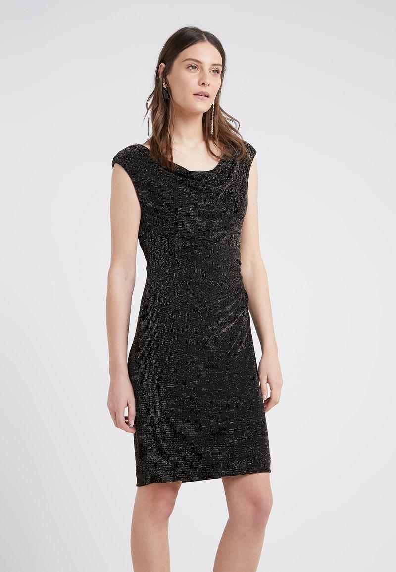 Lauren Ralph Lauren - STAR DUST LOVELLA - Koktejlové šaty/ šaty na párty - black/gold