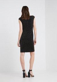 Lauren Ralph Lauren - STAR DUST LOVELLA - Koktejlové šaty/ šaty na párty - black/gold - 2