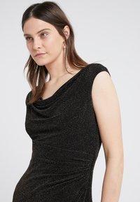 Lauren Ralph Lauren - STAR DUST LOVELLA - Koktejlové šaty/ šaty na párty - black/gold - 3