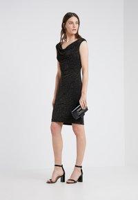 Lauren Ralph Lauren - STAR DUST LOVELLA - Koktejlové šaty/ šaty na párty - black/gold - 1