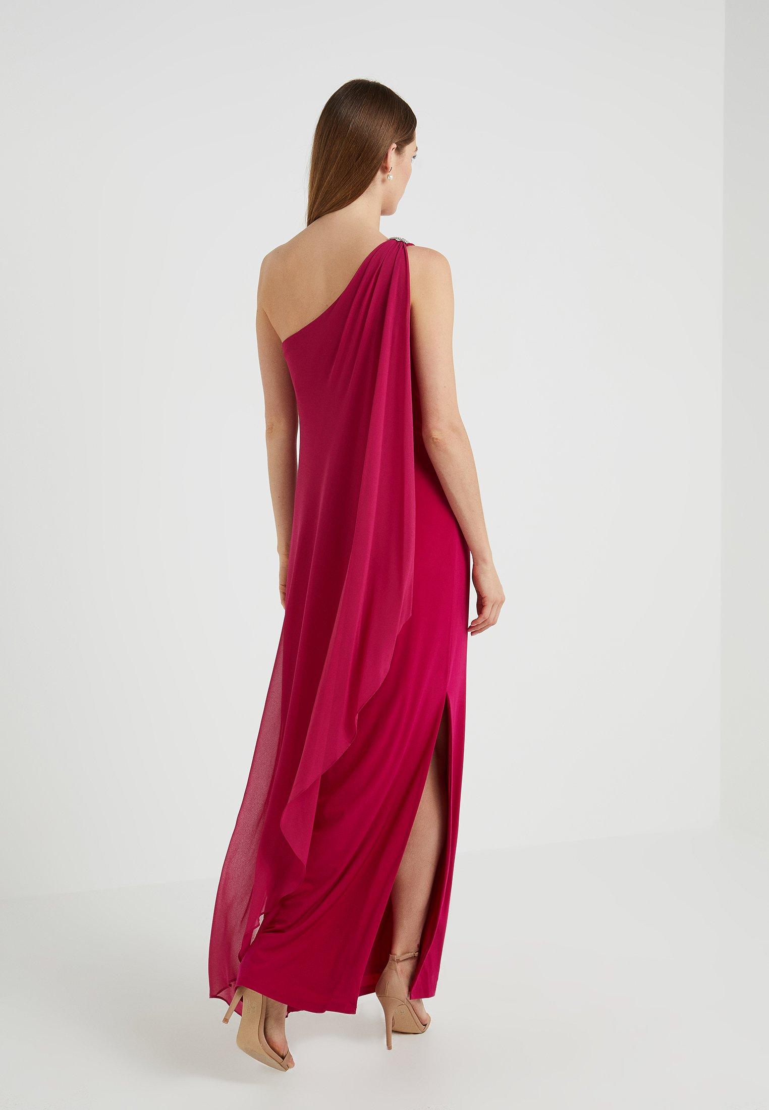 Lauren Ralph Lauren Robe de cocktail - framboise dark primrose