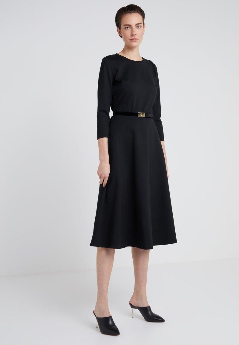 Lauren Ralph Lauren - MODERN PONTE DRESS - Jerseykleid - black