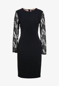 Lauren Ralph Lauren - LUXE TECH KEANU - Žerzejové šaty - black - 3