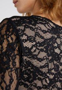 Lauren Ralph Lauren - LUXE TECH KEANU - Žerzejové šaty - black - 4