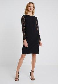 Lauren Ralph Lauren - LUXE TECH KEANU - Žerzejové šaty - black - 0