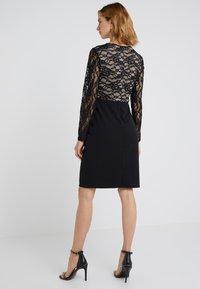 Lauren Ralph Lauren - LUXE TECH KEANU - Žerzejové šaty - black - 2