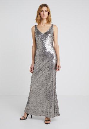 LEMONY - Společenské šaty - liquid silver