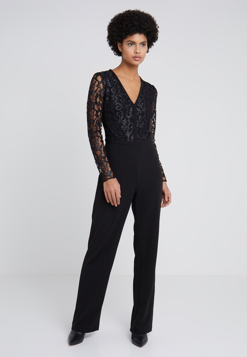 Lauren Ralph Lauren - LUXE TECH TANNAH - Jumpsuit - black/silver