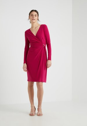 CASONDRA LONG SLEEVE DAY DRESS - Vestido ligero - dark primrose