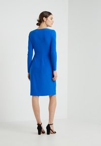 Lauren Ralph Lauren - CASONDRA LONG SLEEVE DAY DRESS - Robe en jersey - portuguese blue - 2