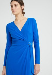 Lauren Ralph Lauren - CASONDRA LONG SLEEVE DAY DRESS - Robe en jersey - portuguese blue