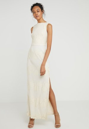 JAYWON SLEEVELESS EVENING DRESS - Iltapuku - cashew
