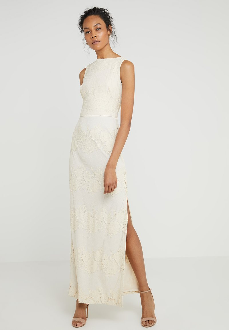 Lauren Ralph Lauren - JAYWON SLEEVELESS EVENING DRESS - Vestido de fiesta - cashew