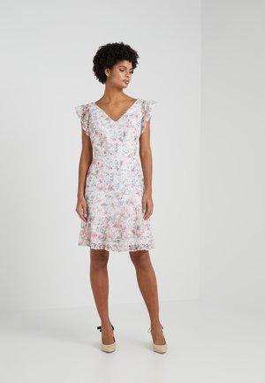 KIZZA SLEEVELESS DAY DRESS - Robe de soirée - colonial cream/pink/multi