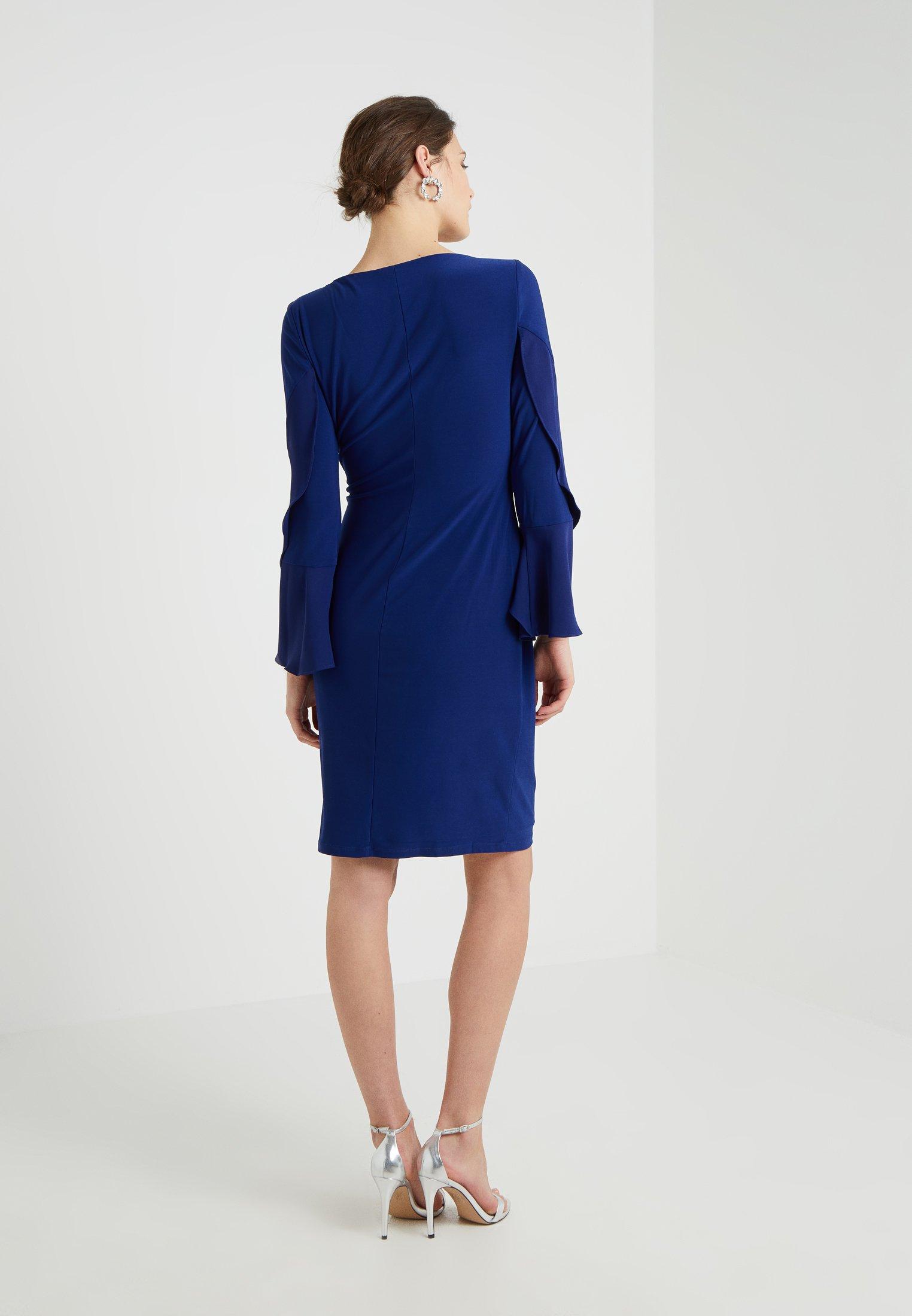 Lauren Ralph Lauren Robe en jersey - bleu roi rich sapphire