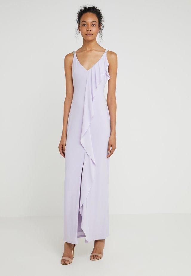VORIANA SLEEVELESS EVENING DRESS - Maxi-jurk - fresh orchid