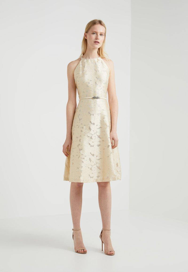 Lauren Ralph Lauren - PETRAH SLEEVELESS DRESS - Cocktail dress / Party dress - pearlescent