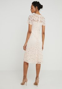 Lauren Ralph Lauren - LOKI SHORT SLEEVE DRESS - Robe de soirée - belle rose - 2