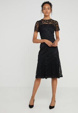 LOKI SHORT SLEEVE DRESS - Vestido de cóctel - black