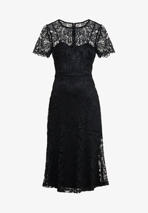 LOKI SHORT SLEEVE DRESS - Koktejlové šaty/ šaty na párty - black