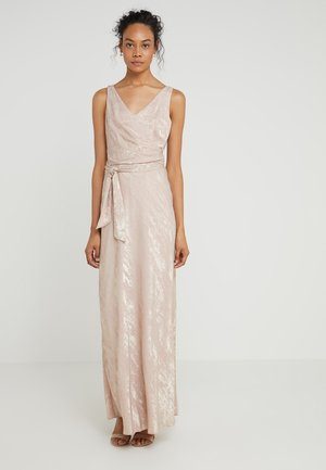 JAYLENE SLEEVELESS EVENING DRESS - Abito da sera - rose