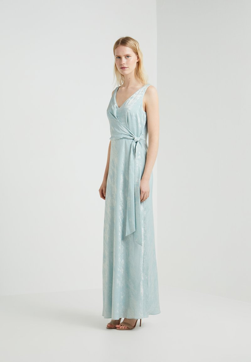 Lauren Ralph Lauren - JAYLENE SLEEVELESS EVENING DRESS - Galajurk - seaglass
