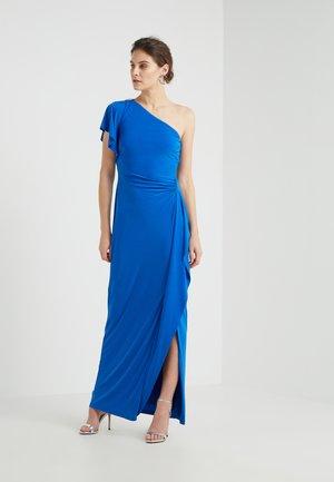 DARIANA ONE SHOULDER EVENING DRESS - Maxikjole - portuguese blue