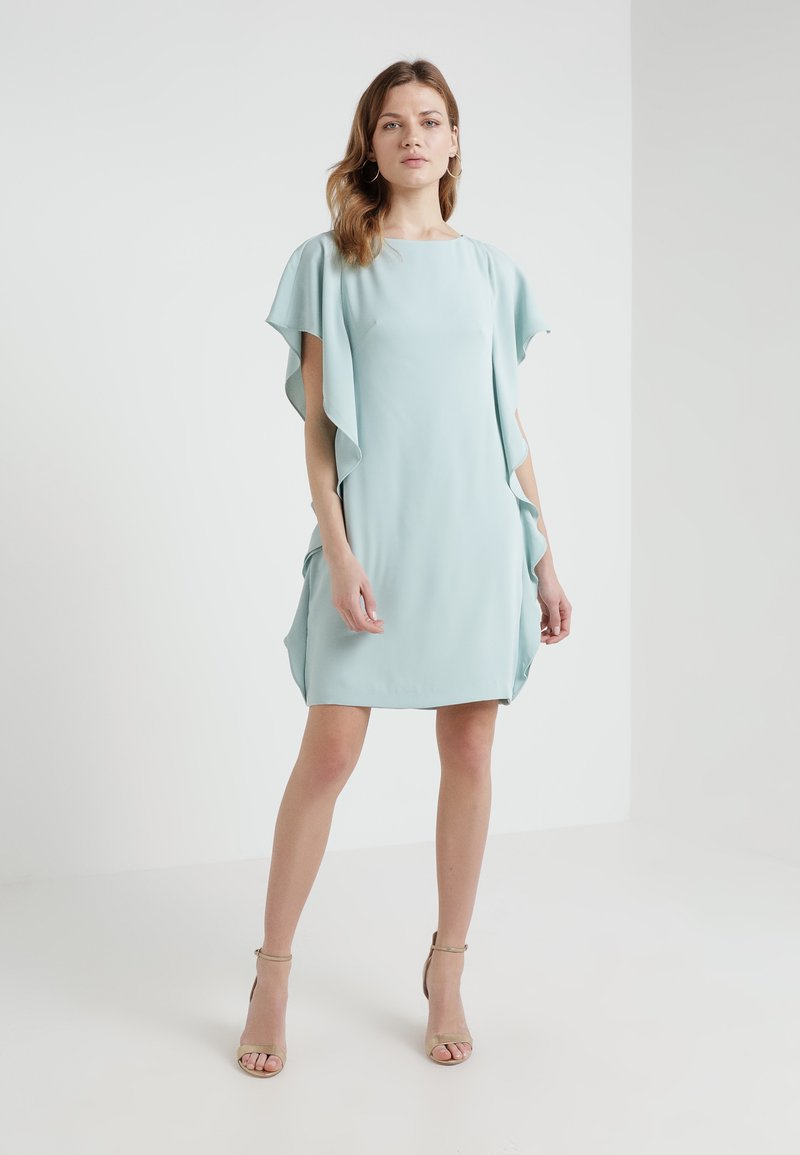 Lauren Ralph Lauren - ELLEE SHORT SLEEVE DAY DRESS - Cocktail dress / Party dress - seaglass