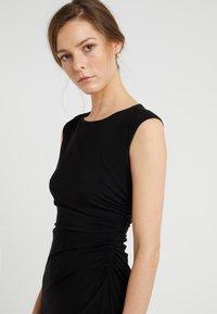 Lauren Ralph Lauren - RONI  SLEEVE DAY DRESS - Kotelomekko - black - 4