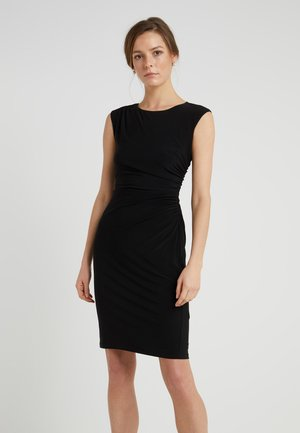RONI  SLEEVE DAY DRESS - Robe fourreau - black