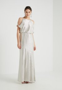 Lauren Ralph Lauren - ZELDER EVENING DRESS - Abito da sera - champagne/silver - 1