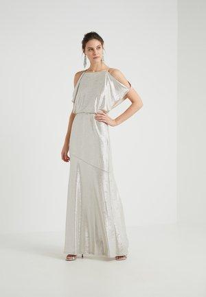 ZELDER EVENING DRESS - Abito da sera - champagne/silver