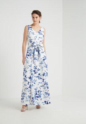 TIVIANA SLEEVELESS EVENING DRESS - Galajurk - white/blue