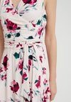 Lauren Ralph Lauren - CARANA SLEEVELESS DAY DRESS - Jersey dress - belle rose/pink/multi