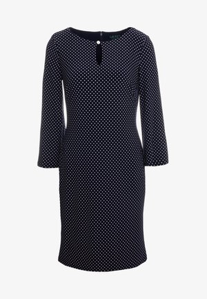 DARBY MONAHAN - Day dress - navy/colonial