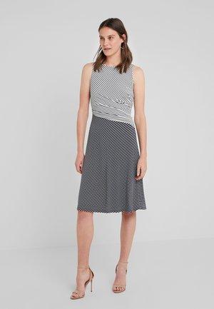 Jerseyklänning - navy/colonial