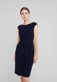 Lauren Ralph Lauren - MATTE SVET - Robe fourreau - lighthouse navy - 0