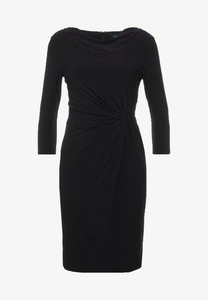 MATTE TRAVA - Jerseyklänning - black