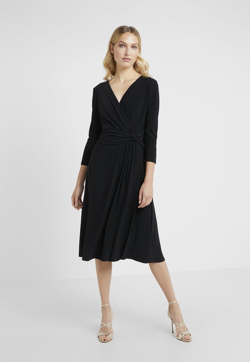 Lauren Ralph Lauren - ZANAHARY - Vestito di maglina - black