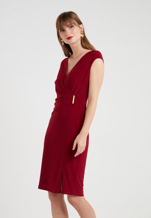 AIDEENA  - Robe fourreau - vibrant garnet