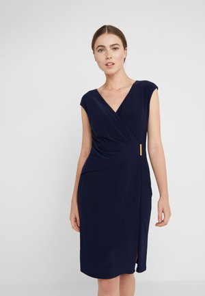 AIDEENA  - Robe fourreau - lighthouse navy