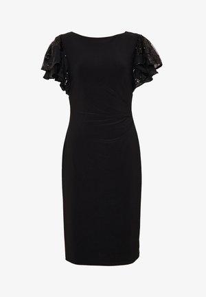 MATTE VANDERLEE COMBO - Sukienka z dżerseju - black