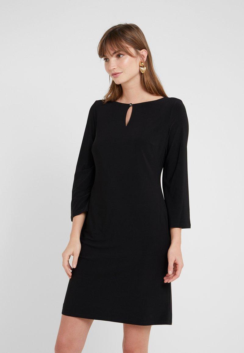 Lauren Ralph Lauren - MATTE VANDERLEE COMBO - Vestido ligero - black