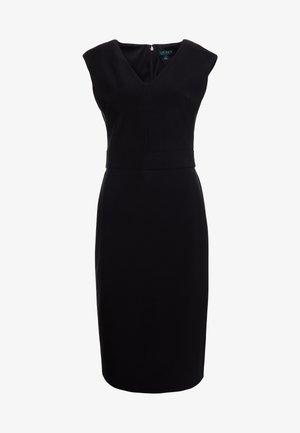 BONDED JANNETTE - Robe fourreau - black