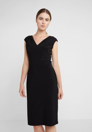 BONDED JANNETTE - Robe fourreau - black