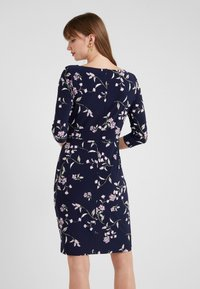 Lauren Ralph Lauren - FLING TRAVA - Pouzdrové šaty - navy/purple - 2