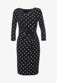 Lauren Ralph Lauren - DRIVER DOT TRAVA - Robe en jersey - black/colonial - 4