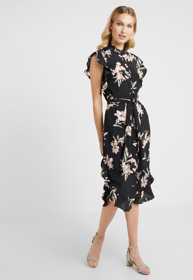 Lauren Ralph Lauren - DRESS - Shirt dress - black/multi