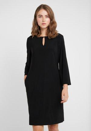 MONAHAN TRIM - Robe en jersey - black