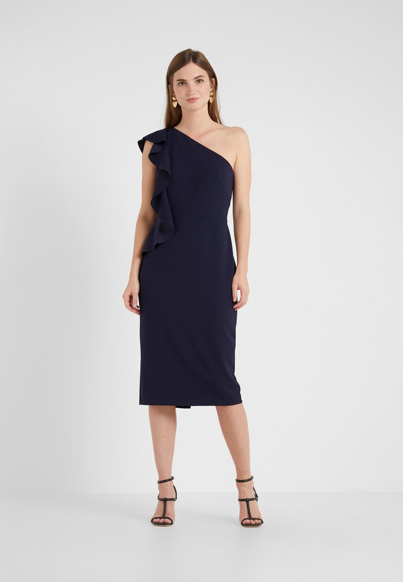 Lauren Ralph Lauren - LUXE TECH LARIS - Robe fourreau - lighthouse navy